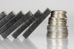 Black Domino bricks Royalty Free Stock Photo