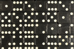 Black Dominoes Royalty Free Stock Photo