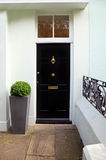 Black door Royalty Free Stock Photo