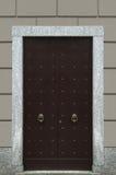 Black door Stock Image
