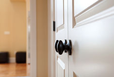 Black Door Knob Royalty Free Stock Photo