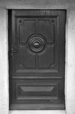 Black door Stock Photos