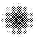 Black dot pixel icon Stock Images