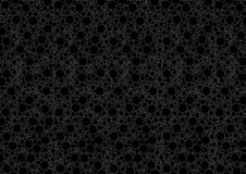 Black Dotted Texture Stock Image