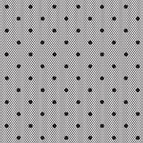 Black dotted veil seamless pattern Royalty Free Stock Photography
