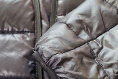 Black down jacket Royalty Free Stock Image