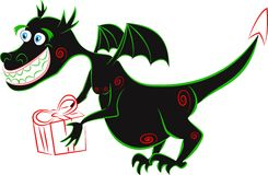 Black dragon Stock Photo