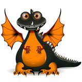 Black dragon Royalty Free Stock Image