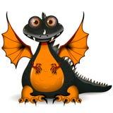 Black dragon Royalty Free Stock Image