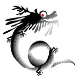 Black Dragon Royalty Free Stock Photos