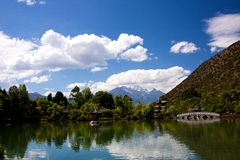 The Black dragon Pool of Lijiang NO.2 Royalty Free Stock Images