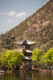 Black Dragon Pool in Lijiang,Yunnan in Southwestern of China. Royalty Free Stock Images