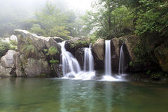 Black dragon pool in lushan scenic Royalty Free Stock Images