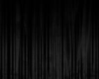 Black drapes Royalty Free Stock Image