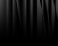 Black drapes Royalty Free Stock Photo