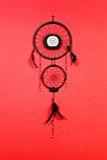 Black dreamcatcher Stock Photo