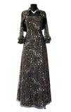 Black dress. On white background Royalty Free Stock Photo