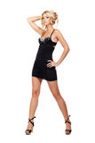 Black dress Stock Photography