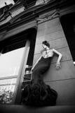 Black dress Royalty Free Stock Images