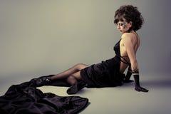 Black dress Royalty Free Stock Photography