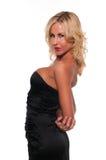 Black dress Stock Images