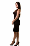 Black dress Royalty Free Stock Image