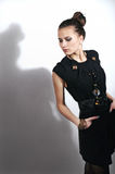 Black Dress Royalty Free Stock Photos