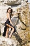 Black dress Royalty Free Stock Photos