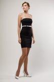 Black dress. Stock Images