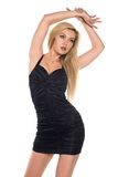 Black dress Stock Images