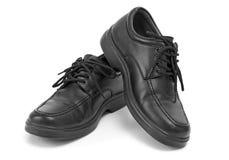 Black Dress Shoes Stock Photo