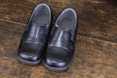 Black Dress Shoes Stock Image