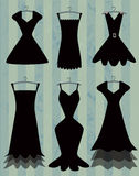 Black dresses Royalty Free Stock Photo