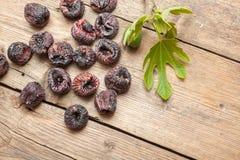 Black dried figs Stock Photos