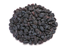 Black dried fruit raisin Royalty Free Stock Images