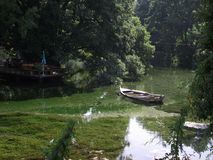 Black Drim. Lake Ohrid , Macedonia Stock Image