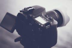 Black Dslr Camera Royalty Free Stock Images