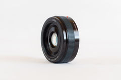 Black Dslr Camera Lens Stock Photo
