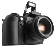 Black DSLR Royalty Free Stock Photo