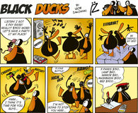 Black Ducks Comics episode 47 Royalty Free Stock Photo