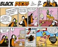 Black Ducks Comics episode 52 Stock Image