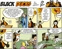 Black Ducks Comics episode 53 Royalty Free Stock Photography