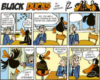 Black Ducks Comics episode 55 Stock Photography