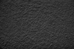 Black Dusty Scratchy Textured wall - Old vintage grunge backgro Royalty Free Stock Image