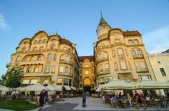 Black Eagle building, Oradea royalty free stock photos