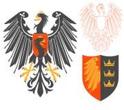 Black Eagle Illustration Stock Images