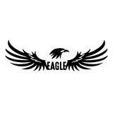 Black Eagle Vector Stock Photography