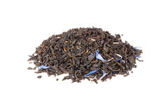 Black Earl Grey tea isolated on white Stock Photo