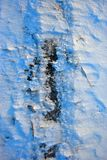 Black earth cowered with white snow, winter landscape detail, natural abstract background, close up royalty free stock images