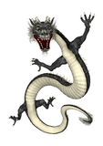 Black Eastern Dragon Royalty Free Stock Images